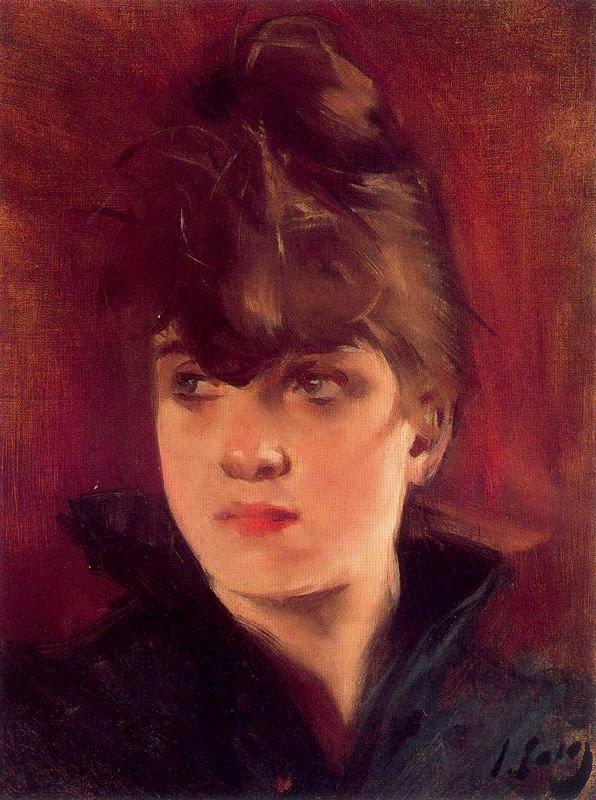 "Рамон Касас Карбо. Портрет женщины. ""Мулен де ла Галетт"""