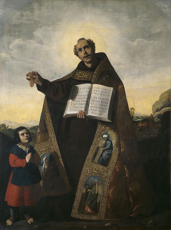 Франсиско де Сурбаран. Святой Роман и Барул Антиохийский