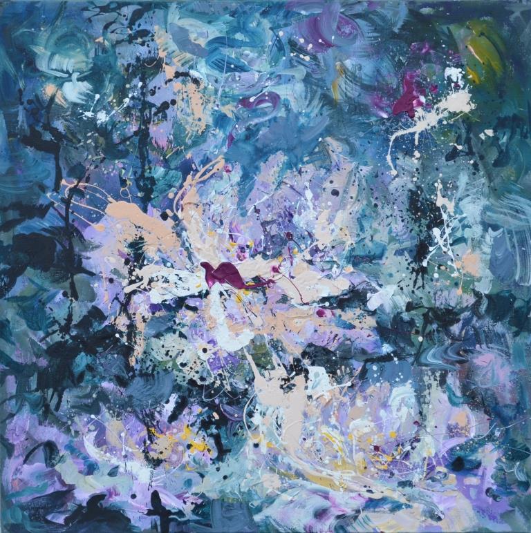 "Tanya Vasilenko. ""Romance"". Acrylic. Canvas. Romantic. Acrylic on Canvas."