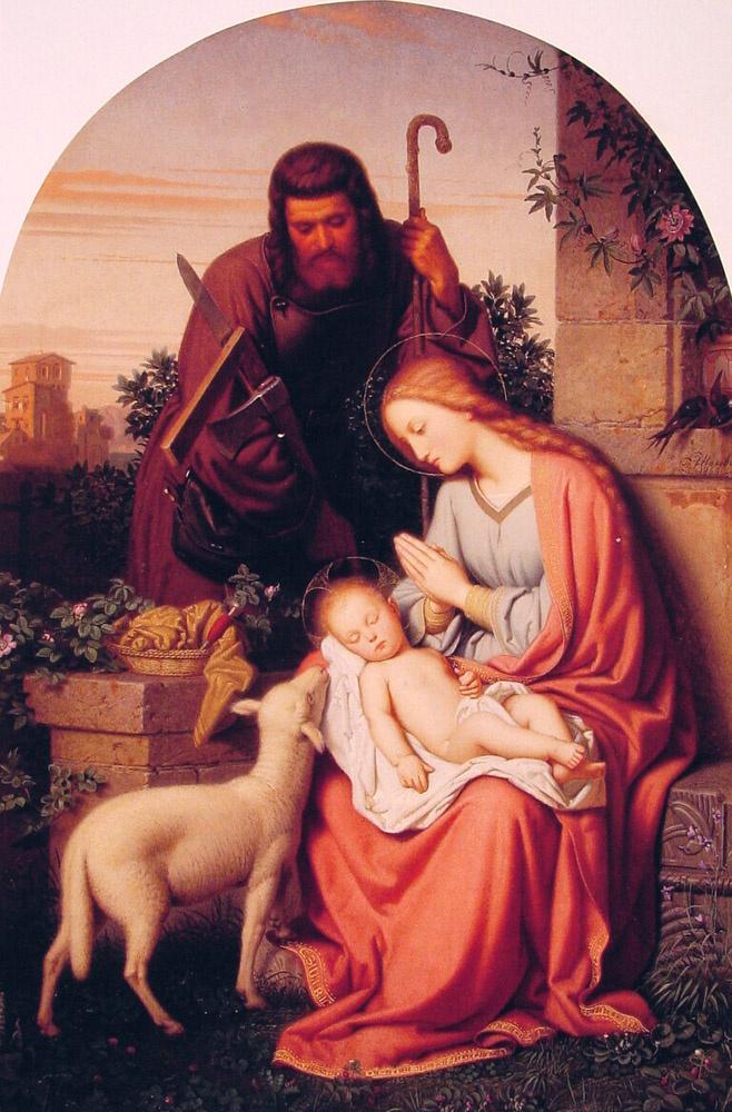 Франц Йттенбач. Святое семейство