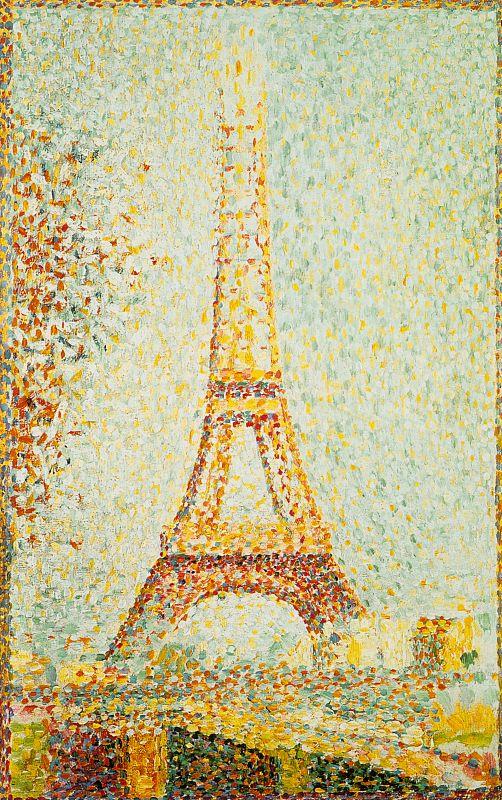 Жорж Сёра. Эйфелевая башня. Париж