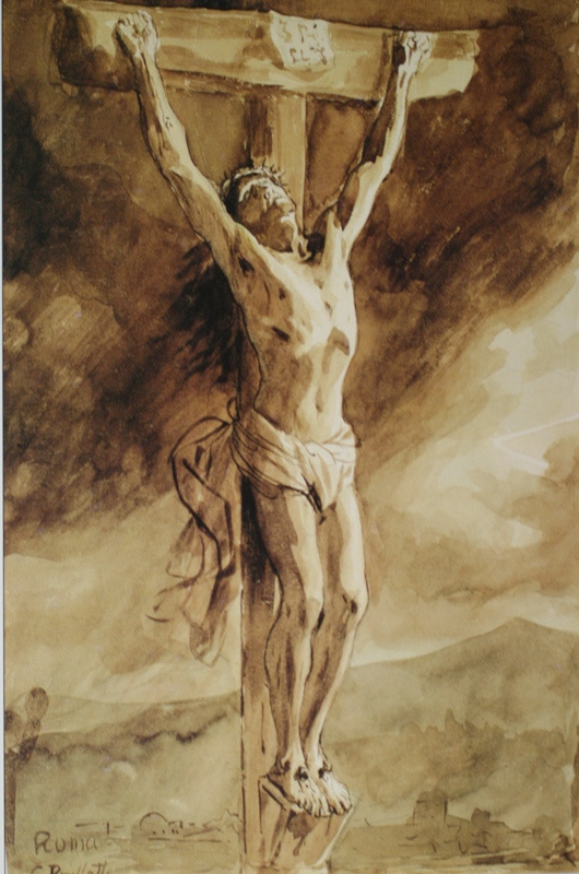Karl Pavlovich Bryullov. The crucifixion (the Last breath)