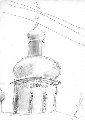 Natalya Garber. Kirillo-Belozersky Monastery