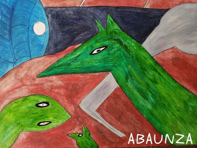 EDUARDO ABAUNZA. GREEN FAUNA