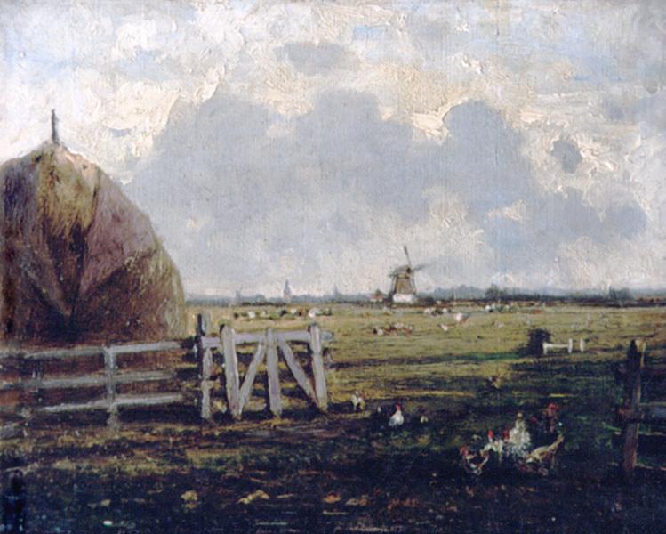 Алексей Петрович Боголюбов. Сельский вид около Гааги