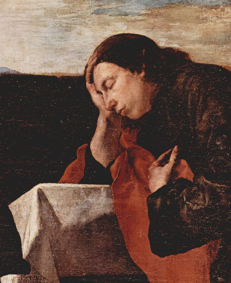 Хосе де Рибера. Тайная вечеря, деталь