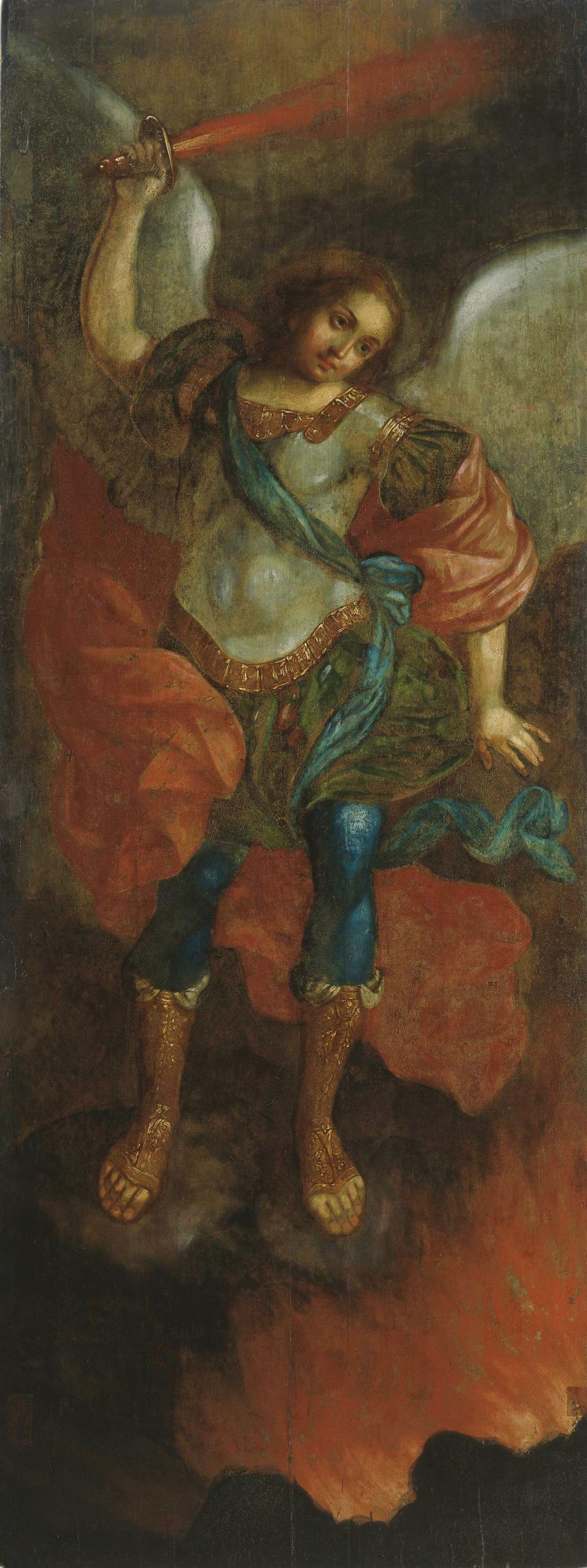 Vladimir Borovikovsky. Archangel Michael with a sword