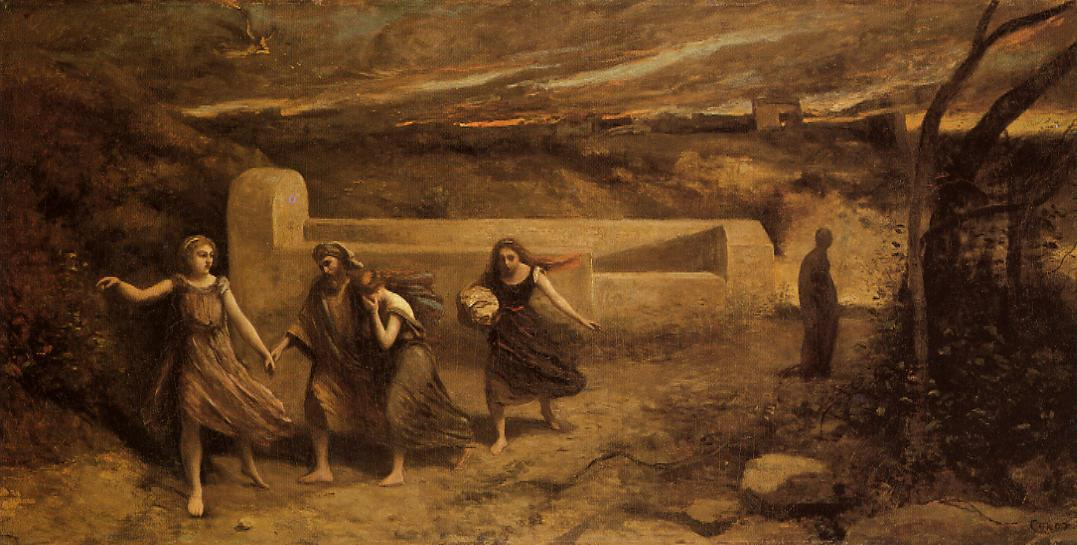 Камиль Коро. Разрушение Содома