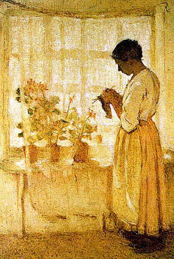 Луи Поль Дессап. Рукодельница у окна