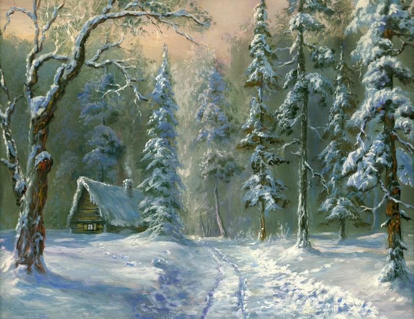 Stanislav Pobytov. Russian winter