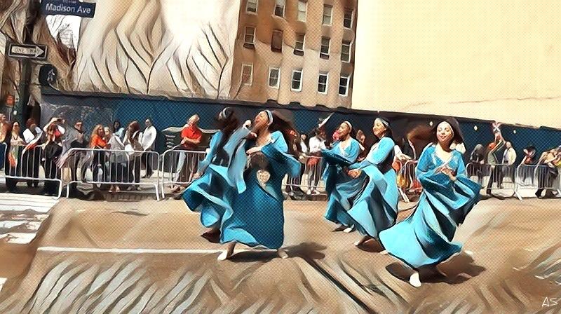 Alexios Shandermani. PERSIAN DANCE