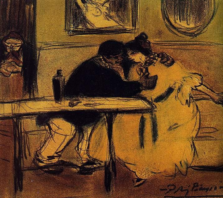 Пабло Пикассо. Диван