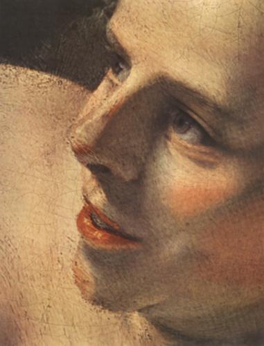 Rembrandt Harmenszoon van Rijn. Danae, fragment