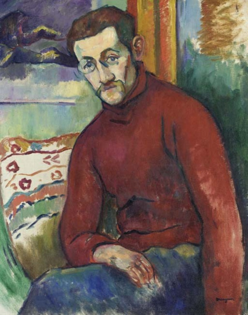 Henri Manguin. Portrait Of Jean Puy
