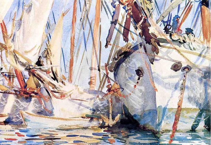 John Singer Sargent. White ships