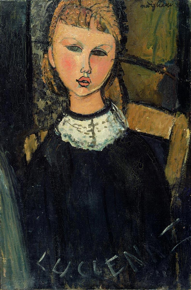 Amedeo Modigliani Little We: Description of the artwork