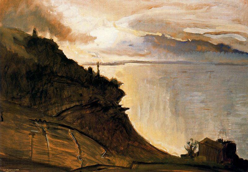 Le Montellier.  Ernest Biéler