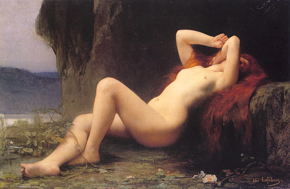 Jules Joseph Lefebvre. Nude