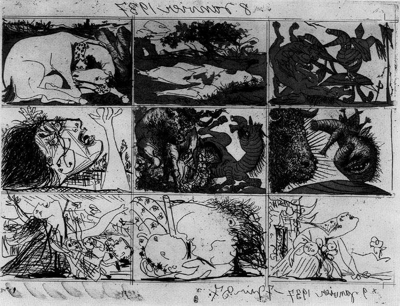 Пабло Пикассо. Мечта и ложь Франко II