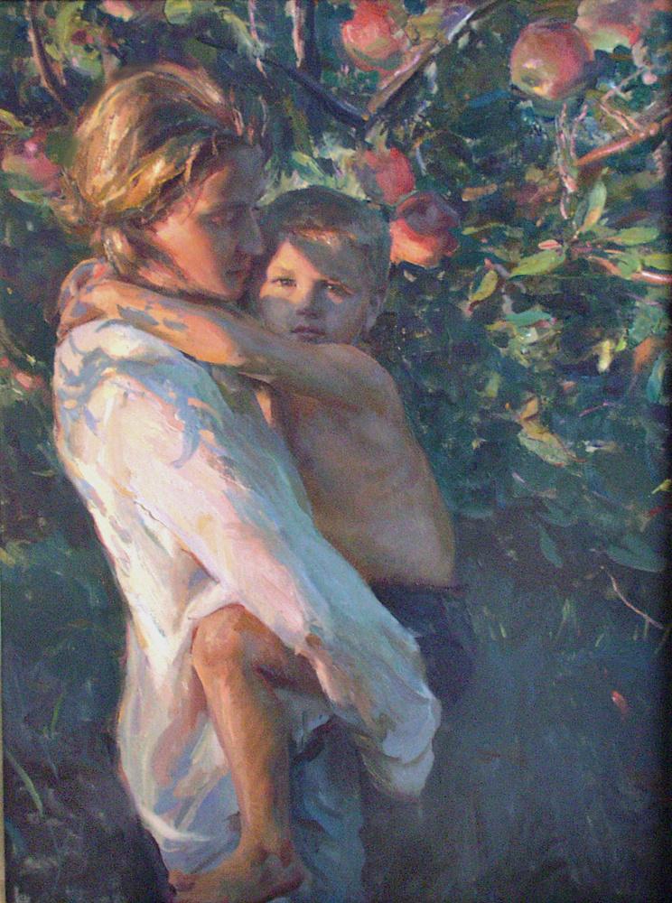 Даниэль Герхартц. С мамой