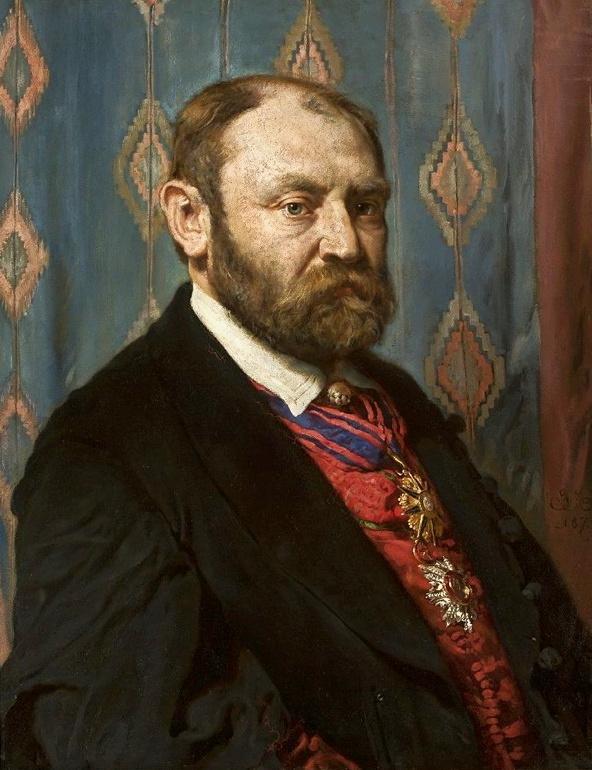 Jan Matejko. Portrait of Tadeusz Oksha-Ozhekhovsky.
