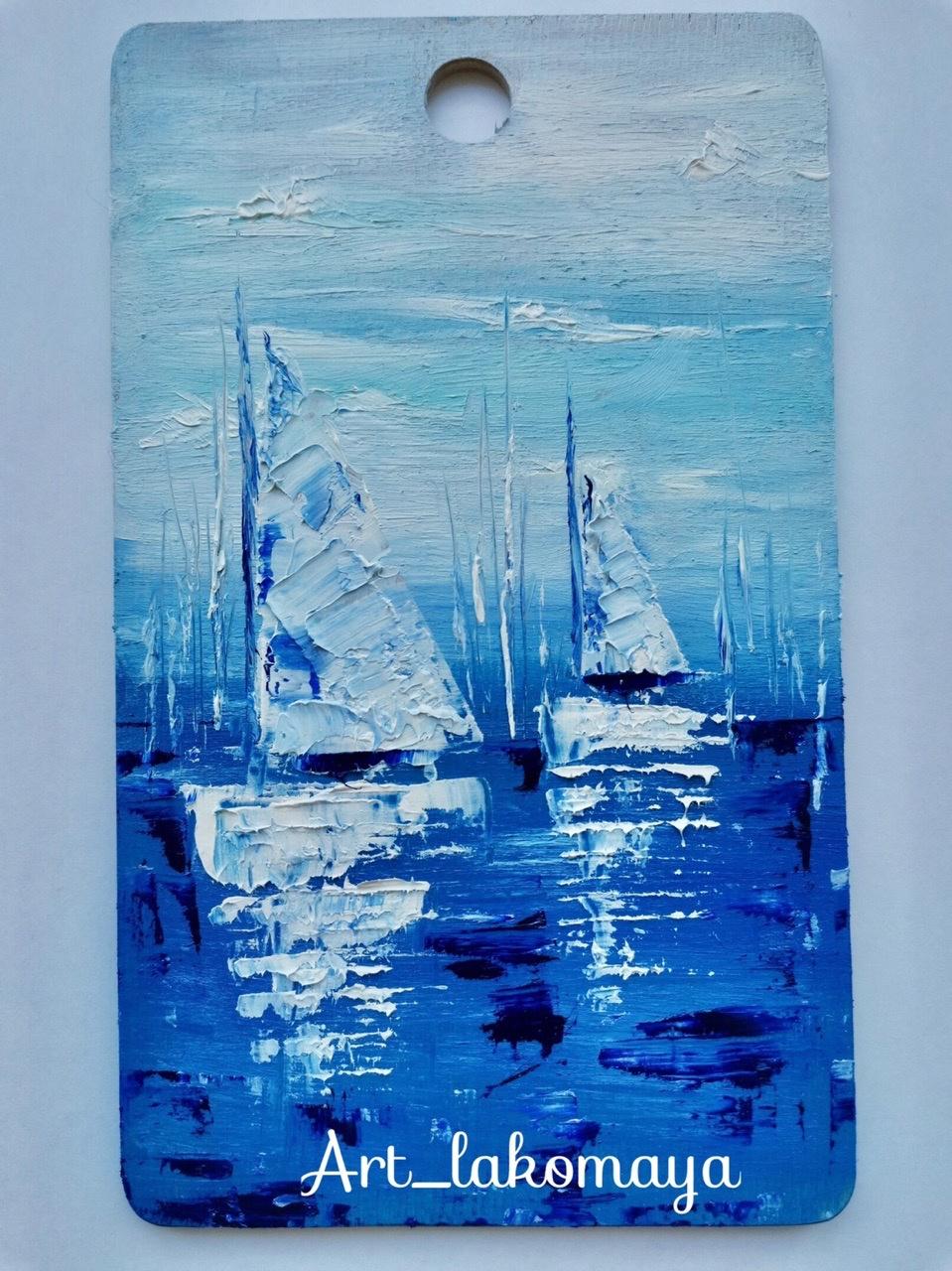 Olga Lakomaya. Sailing Yachts