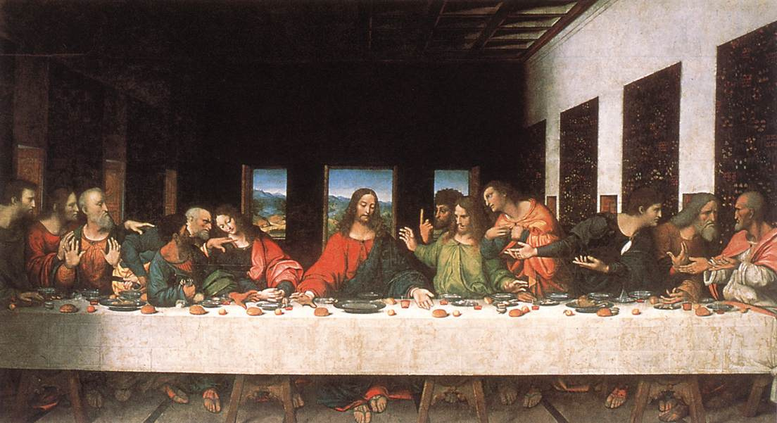 Last Supper copy by Unknown artist History Analysis & Facts