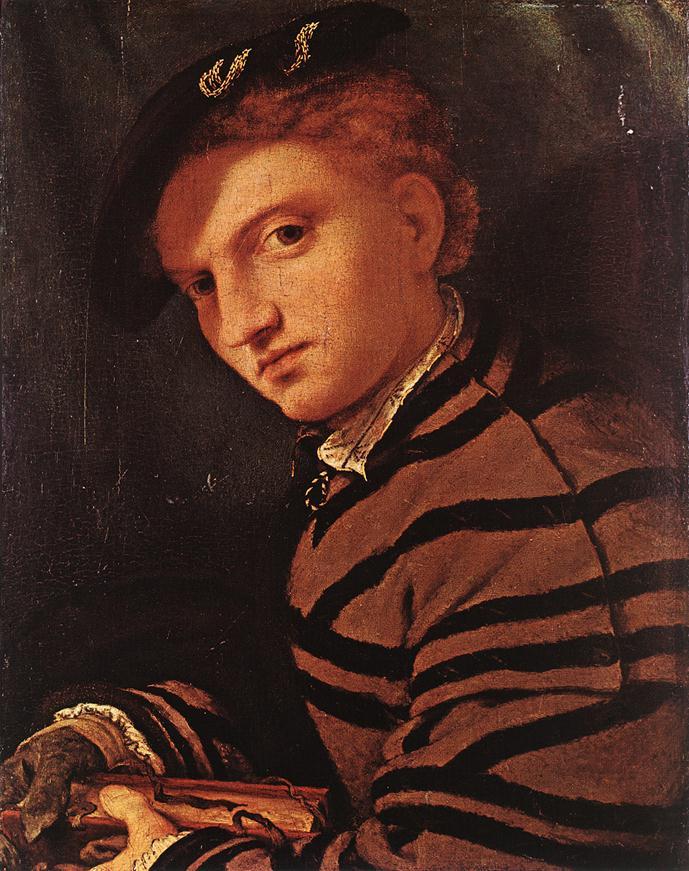 Лоренцо Лотто. Юноша с книгой