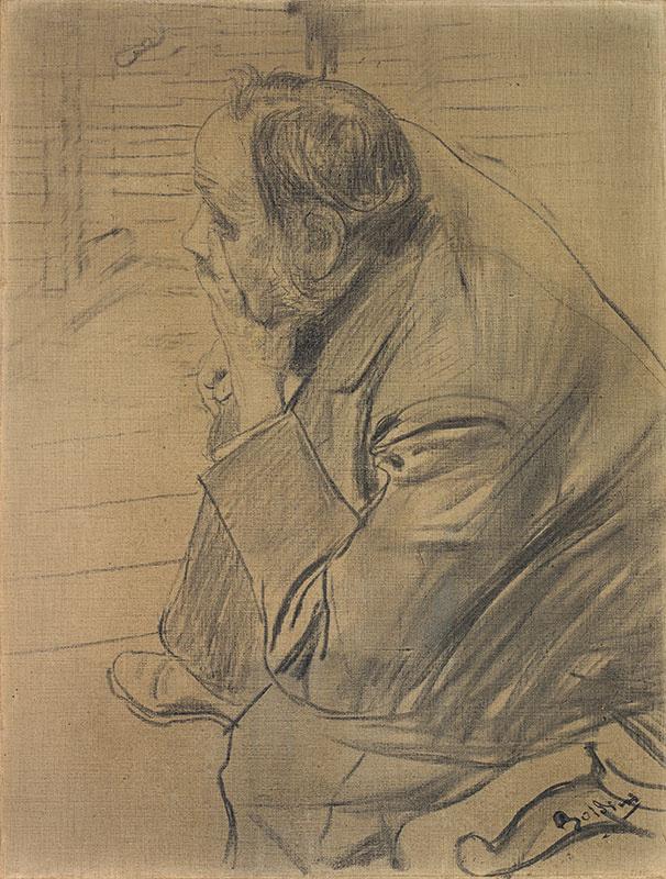 Giovanni Boldini. Portrait of Edgar Degas