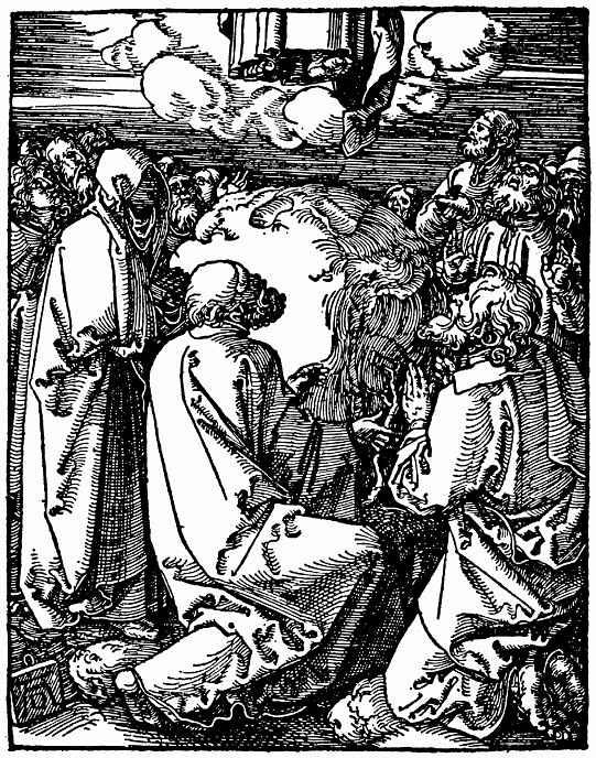 Альбрехт Дюрер. Вознесение Христа