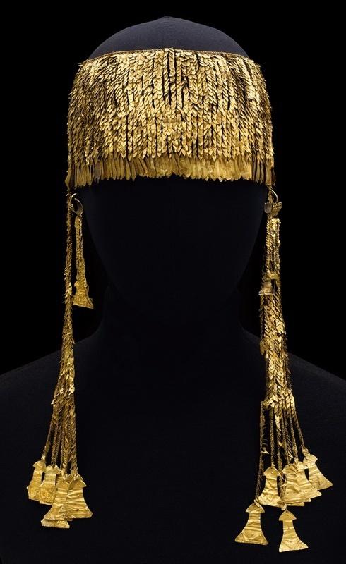 Сокровища Трои. Большая золотая диадема