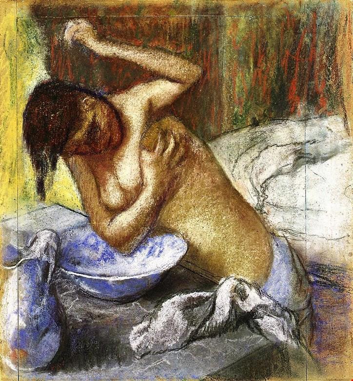 Edgar Degas. Washable woman