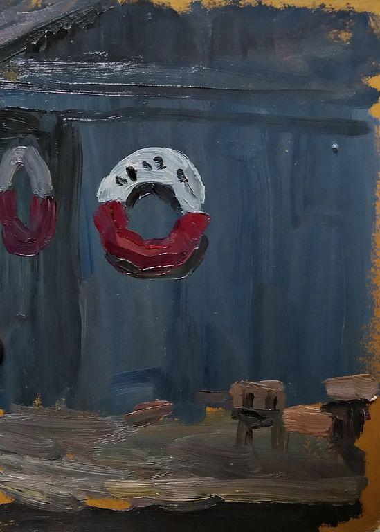 Orest Georgievich Betekhtin. Circle sketch