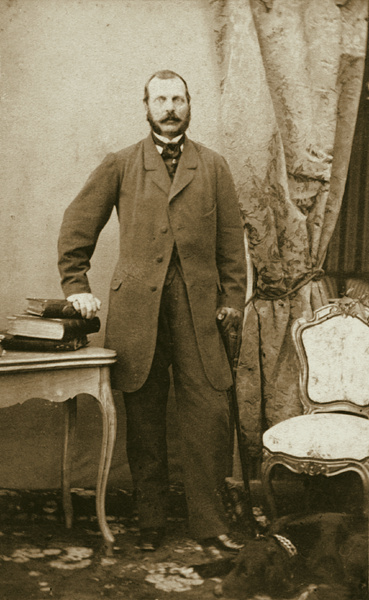 Алексей Петрович Боголюбов. Фотографический портрет Александра II