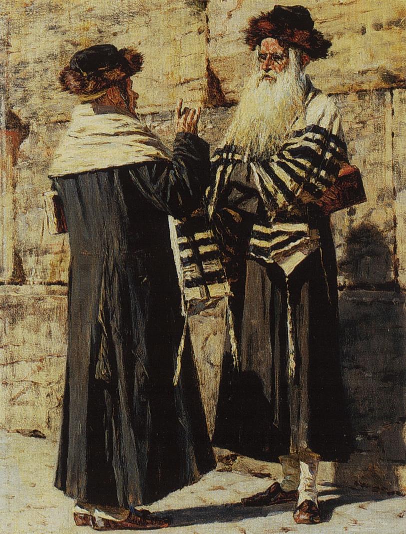 Vasily Vereshchagin. Two Jews
