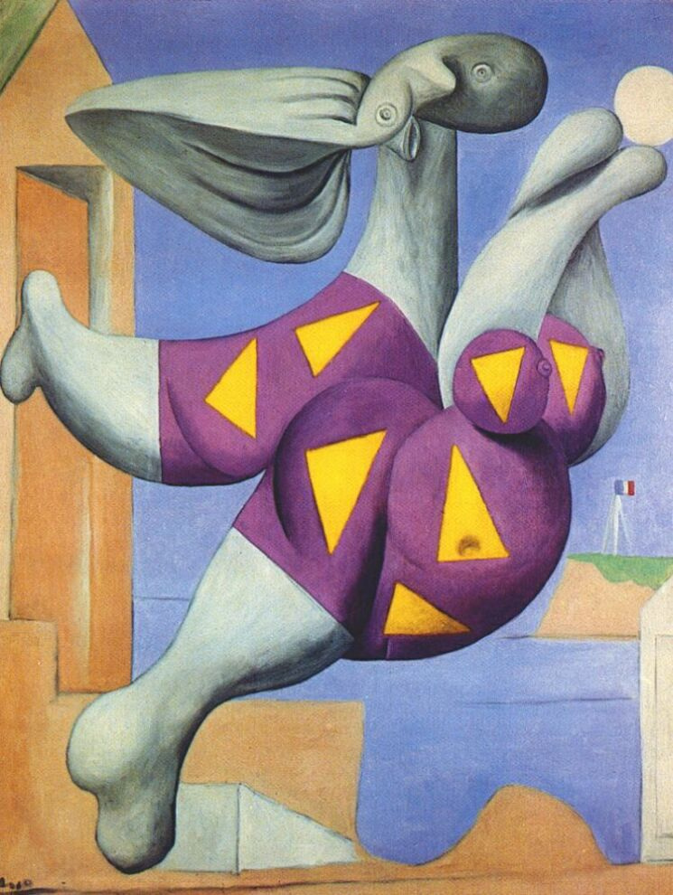 Pablo Picasso. Bather with beach ball