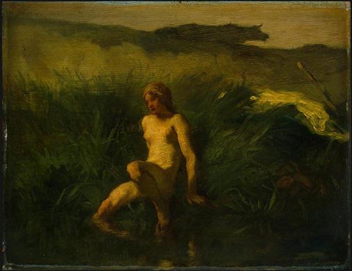 Жан-Франсуа Милле. Купальщица