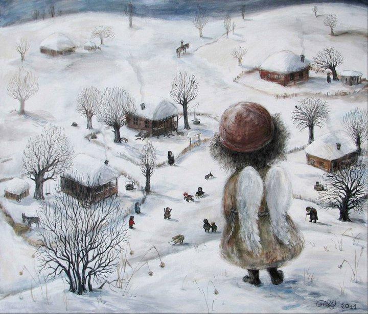 Нино  Чакветадзе. Ангел