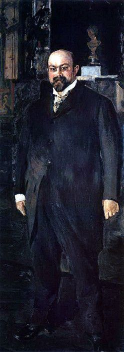 Валентин Александрович Серов. Портрет М. А. Морозова