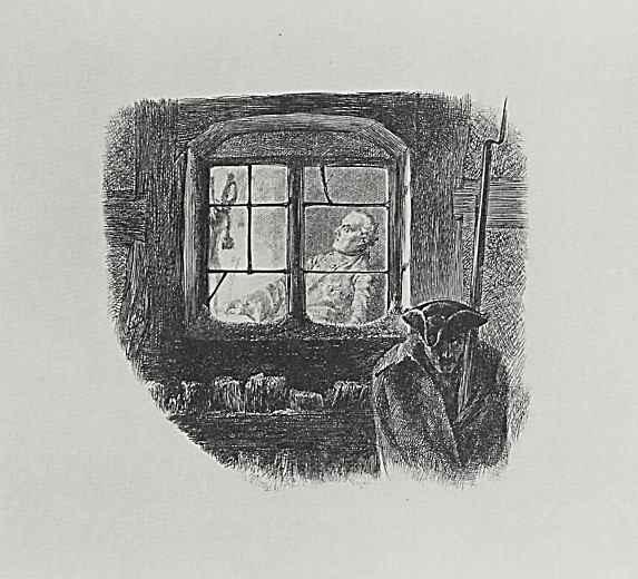 """Адольф фон Менцель. Иллюстрация к """"Деяниям Фридриха Великого"""""""