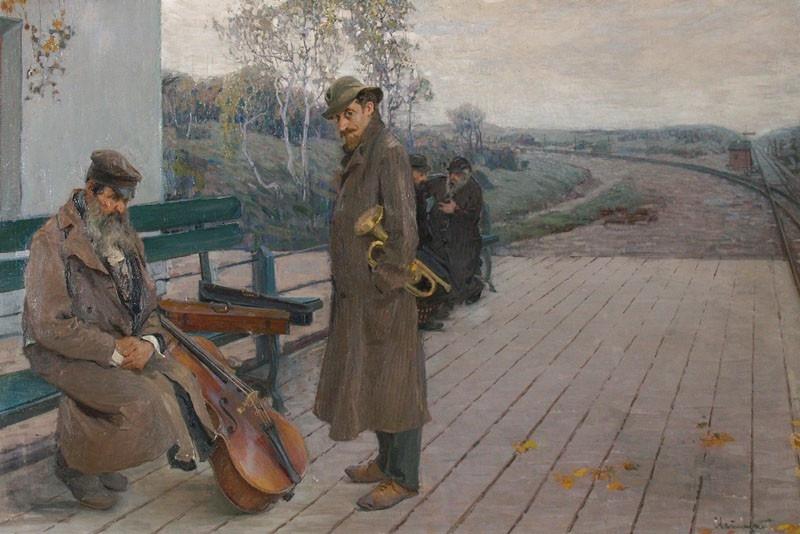 Grigory Petrovich Svetlitsky. Musicians