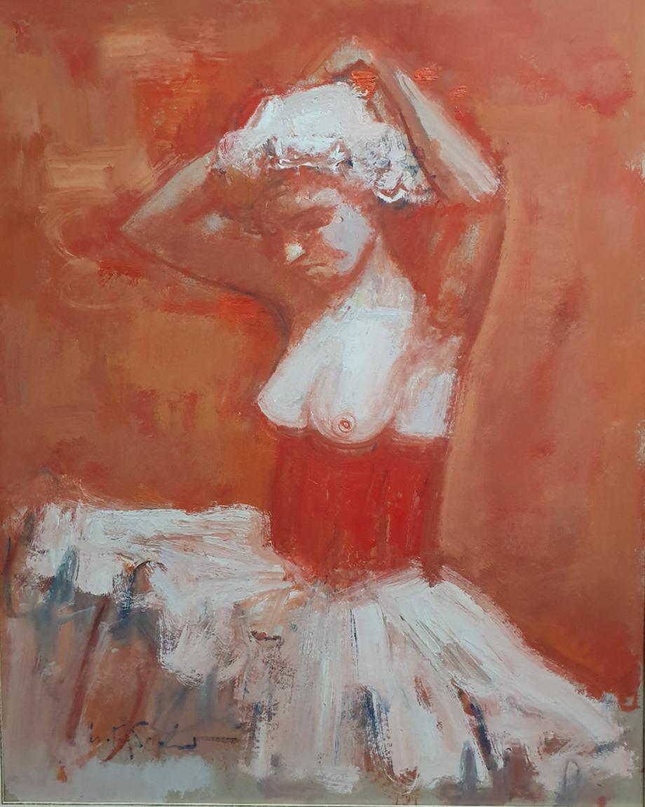 Igor Ivanovich Gubsky. Ballerina