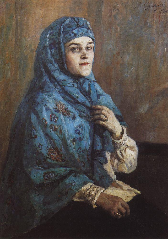 Василий Иванович Суриков. Портрет княгини Щербатовой