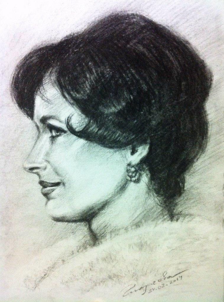 Olga Glazacheva. Natalya Fateeva