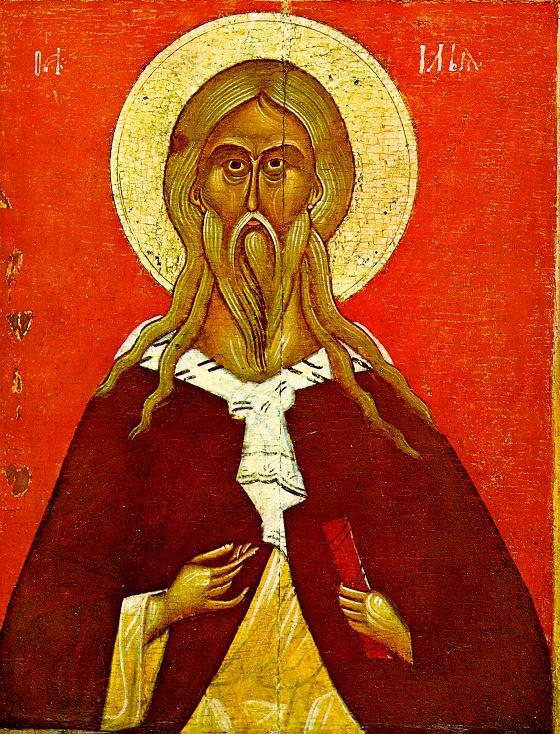 Icon Painting. Elijah