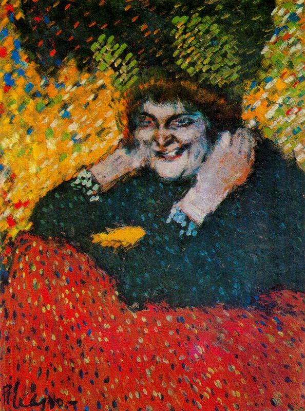 Пабло Пикассо. Старуха (Женщина с перчатками)