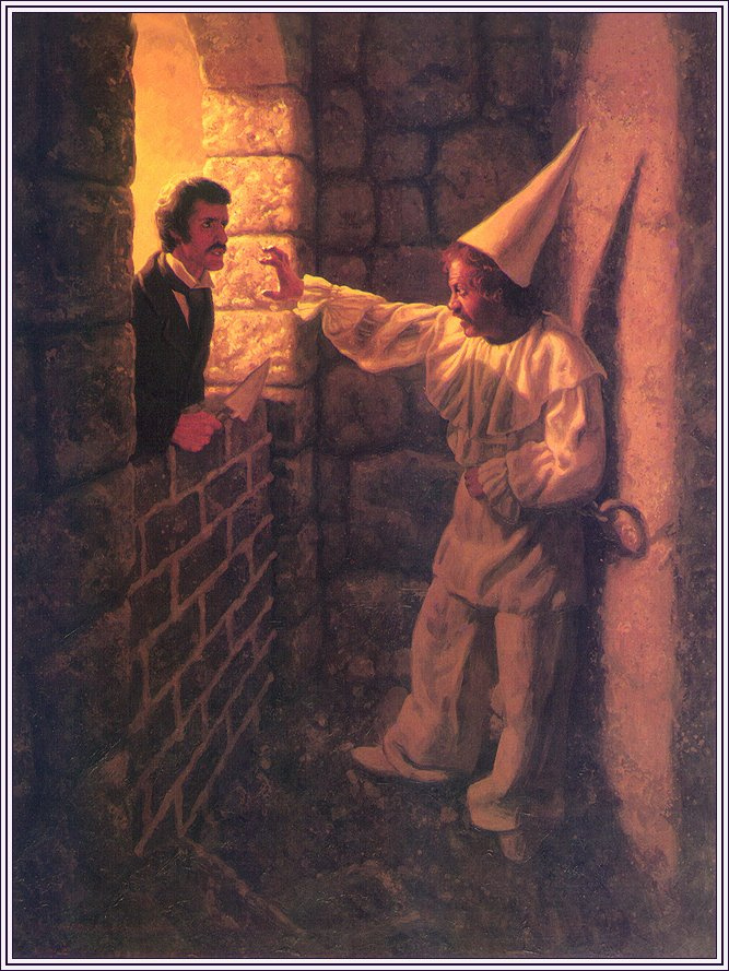 the use of dramatic irony in the cask of amontillado by edgar allan poe
