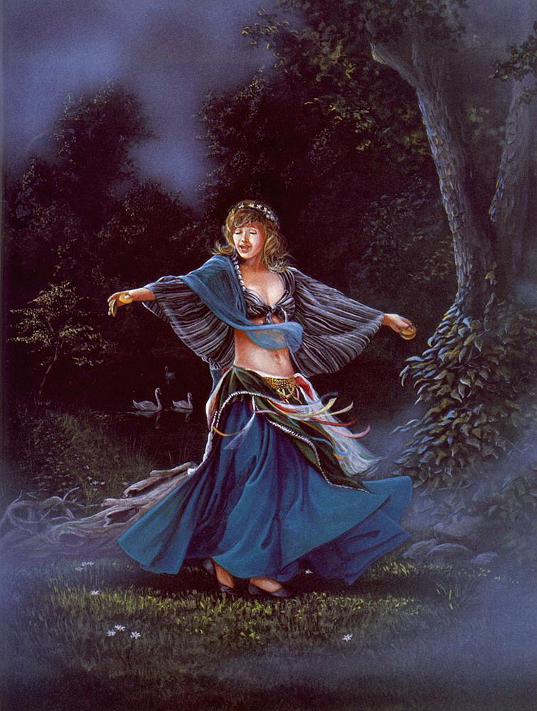 Давид Черри. Танец Эсмеральды