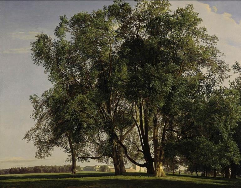Ferdinand Georg Waldmüller. Landscape near Prater