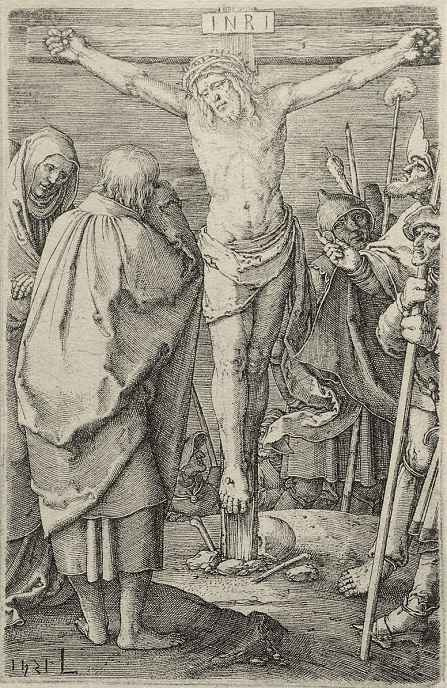 Лукас ван Лейден (Лука Лейденский). Распятый Христос